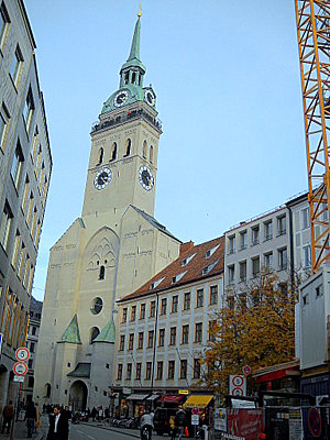 St Peter Kirche Munich Germany