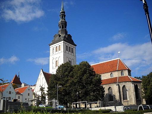 Nigulisten kirkko Tallinna