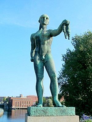 päätön patsas tampere