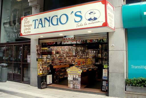 Tango's shop Buenos Aires