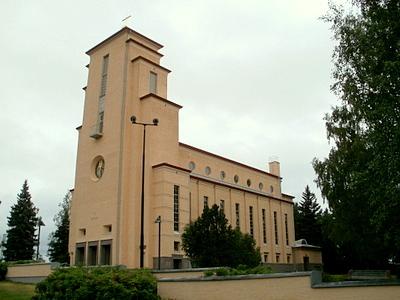 Taulumäen kirkko Jyväskylä