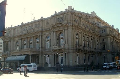 Teatro Colon Buenos Aires Avenida Liberdad