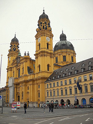 Theatinerkirche Munich Germany
