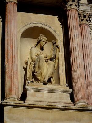 Toulon opera Poesie Lyrique statue