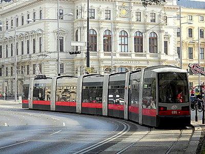 Tram Vienna Austria