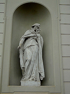 New Schleissheim palace statue Munich Germany