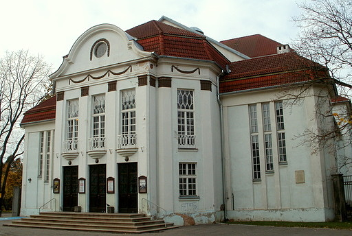 Vanemuine teatteri saksalainen teatteri Tartto