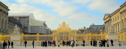 Golden Gates of Versailles Versailles Palace Golden Gate