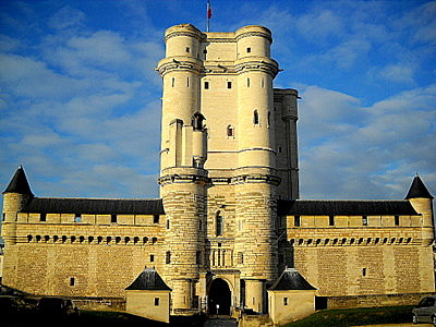 Vincennes castle in Paris France