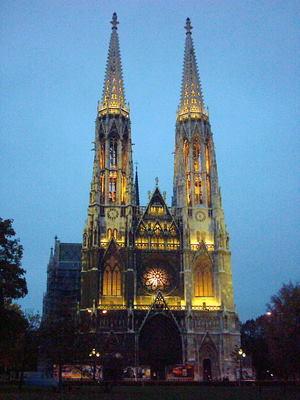 Votivkirche Vienna Austria