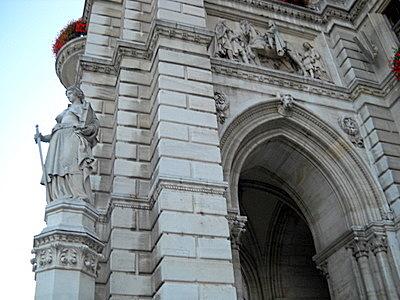Wiener Rathaus facade