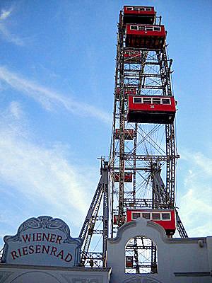 Wiener Riesenrad Vienna Austria