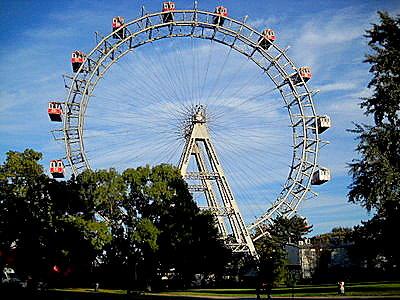 Wiener Riesenrad Ferris Wheel Vienna Austria