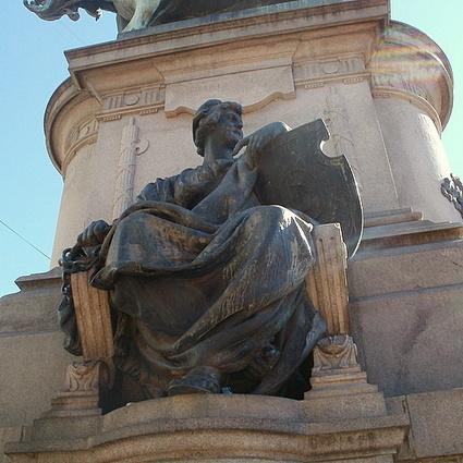 Pallas Athene Giuseppe Garibaldi monument Buenos Aires