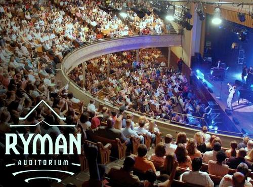 Ryman auditorium Nashville Yhdysvallat.