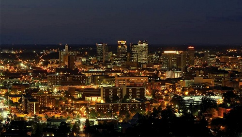 Birmingham Alabama Yhdysvallat.