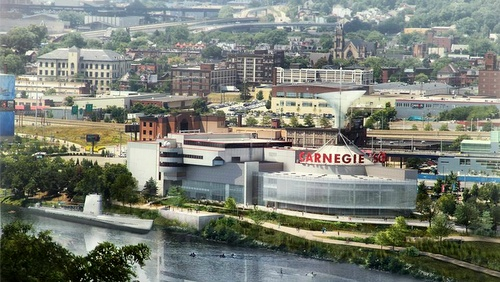 Carnegie tiedekeskus Pittsburgh Yhdysvallat.