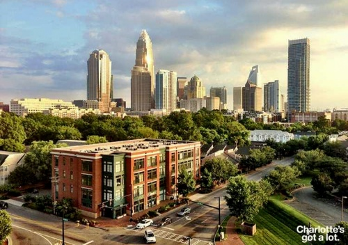 Charlotte North Carolina Yhdysvallat.