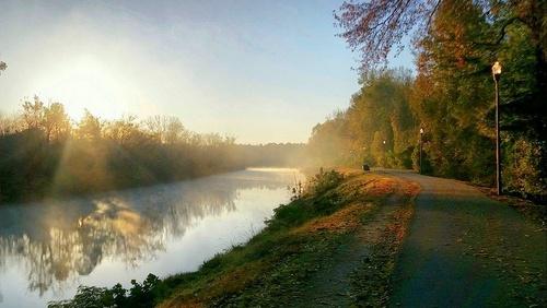 Columbia Riverfront Park Etelä-Carolina Yhdysvallat.