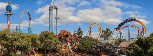 Knott's Berry Farm huvipuisto Orange County Yhdysvallat.