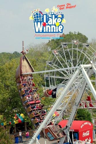 Lake Winnie huvipuisto Chattanooga Yhdysvallat.