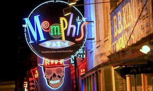 Memphis Tennessee Yhdysvallat.
