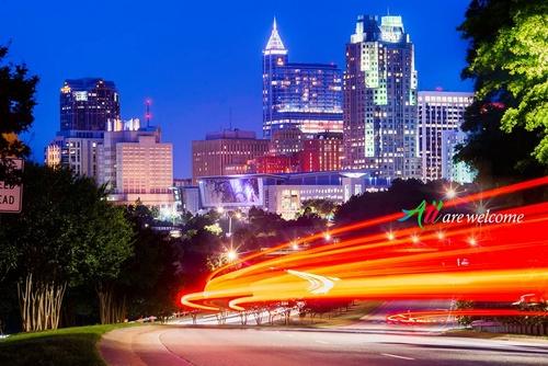 Raleigh Pohjois-Carolina Yhdysvallat.