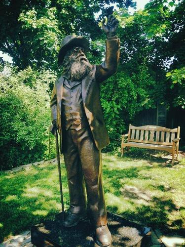 Walt Whitmanin synnyinpaikka Long Island Yhdysvallat.