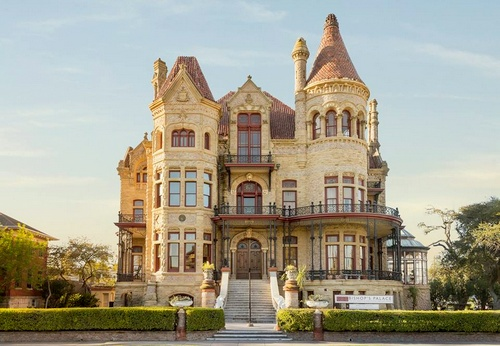 Bishop's Palace Galveston Texas Yhdysvallat.