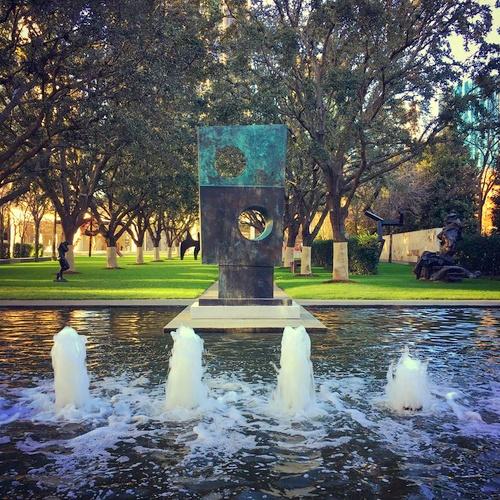 Nasher veistoskeskus Dallas Texas Yhdysvallat.