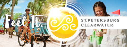 St. Petersburg & Clearwater Florida Yhdysvallat.