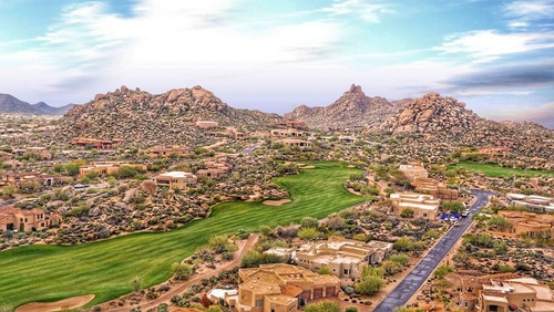 Troon North Golf Club Scottsdale Yhdysvallat.