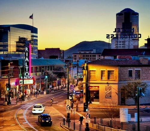 Tucson Arizona Yhdysvallat.