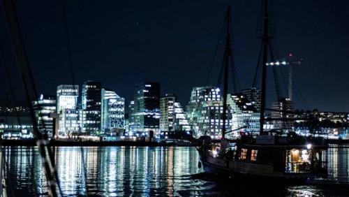Båtservice näköalaristeilyt Oslo Norja.