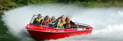 Klondike Jet Boats Edmonton Kanada.
