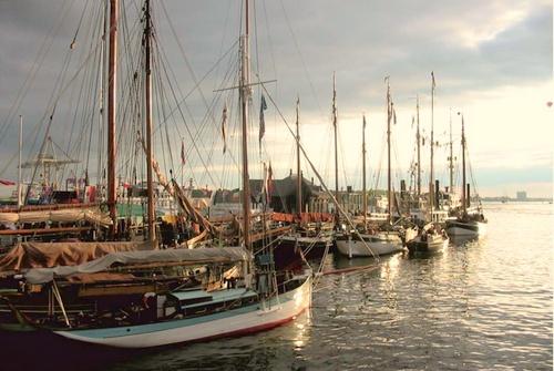 Museumshafen Oevelgönne Hampuri Saksa.