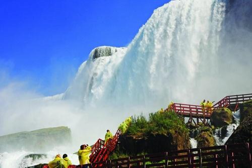 Niagara Falls vesiputous Yhdysvallat.