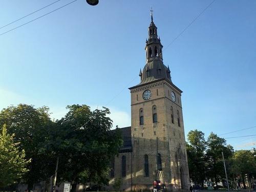 Oslon tuomiokirkko.