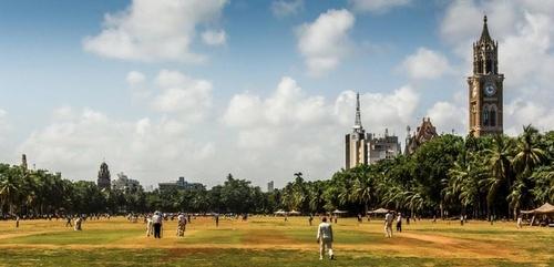 Oval Maidan Mumbai Intia.