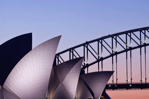 Sydney Harbour Bridge Australia.
