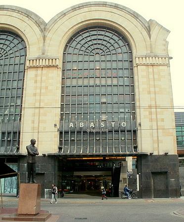 Abasto Shopping Center Carlos Gardel statue in Buenos Aires