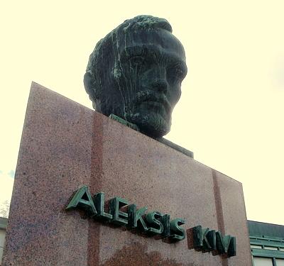 Aleksis Kivi patsas Turku