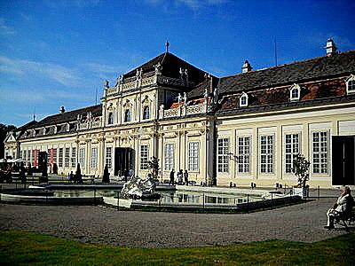 Lower Belvedere palace Vienna Austria