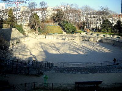 Arenes de Lutece Paris France