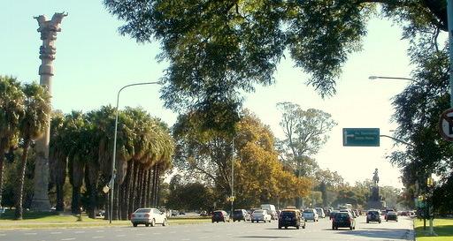 Avenida Presidente Figueroa Alcorta Buenos Aires Argentina