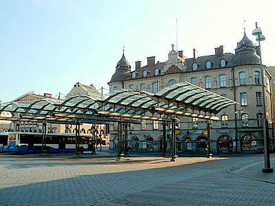 Bussiterminaali keskustori Tampere