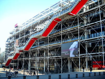 Centre Georges Pompidou in Paris