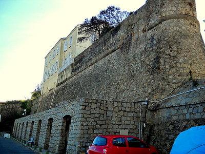 Citadelle Port de Peche Ajaccio France