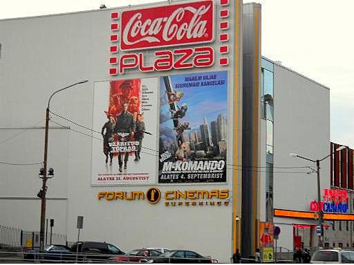 Coca-Cola Plaza Tallinna