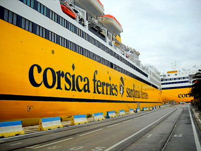 Corsica Ferries - Sardinia Ferries Toulon France